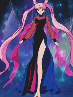 Black Lady perruque De Pretty Guardian Sailor Moon